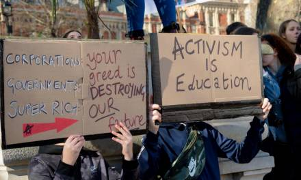 Student activism – should it be encouraged?