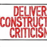 Using constructive criticism to improve learning outcomes